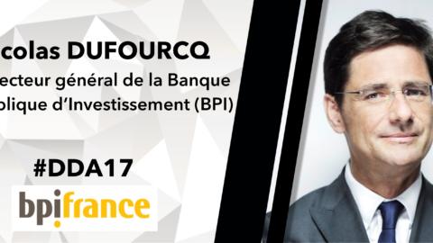 Dîner d'Affaires 17/03/17 – Nicolas Dufourcq, Directeur Général de la BPI