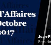 Dîner d'Affaires – Jean-Pierre LETARTRE, Président d'EY (ex Ernst & Young)