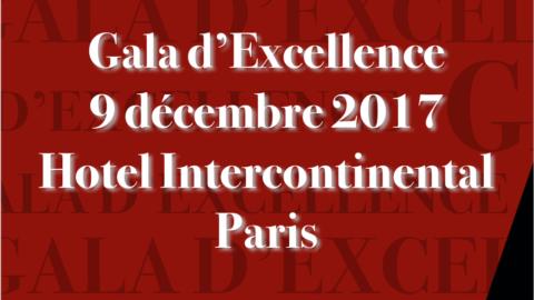 Gala D'excellence 9 dec. 2017