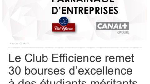 Bourse d'excellence 2018