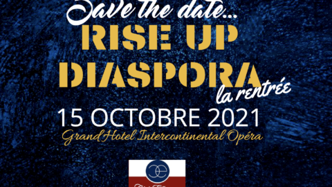 RISE UP DIASPORA – LA RENTREE – 15 oct. 2021